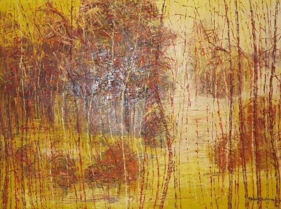 Acrylic on canvas - 30 x 36 in