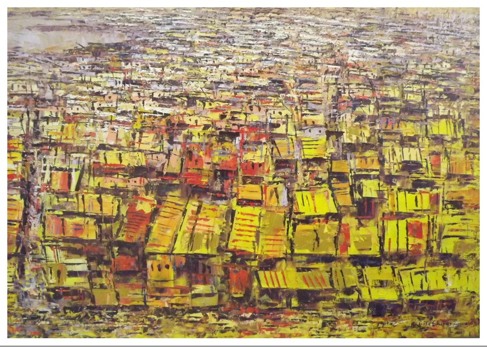 Acrylic on canvas - 36 x 48 in
