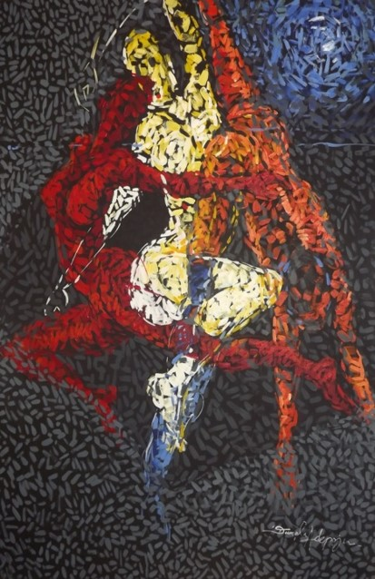 Dynamism (2012) - Acrylic on canvas - 35 x 47 in