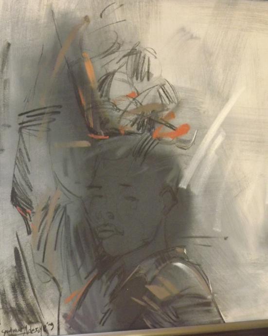 Life Stroke (2009) - Acrylic on canvas - 32 x 32 in.jpg