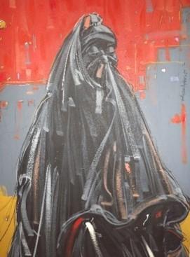 Self- Colour (2010) - Acrylic on canvas - 36 x 47 in