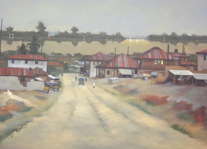 Acrylic on canvas - 33 x 45