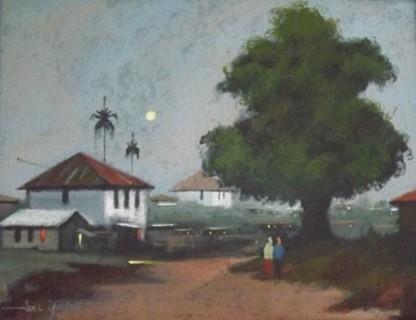 Acrylic on canvas - 22 x 28