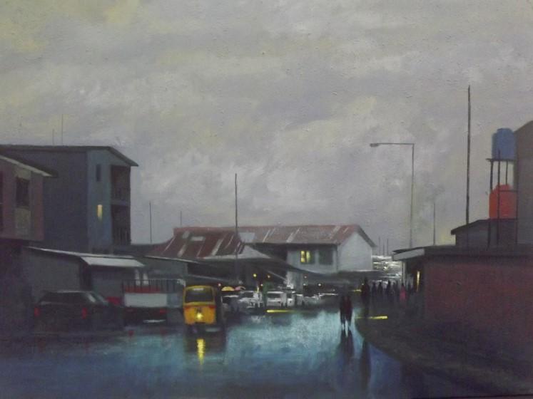 Acrylic on canvas - 35 x 35