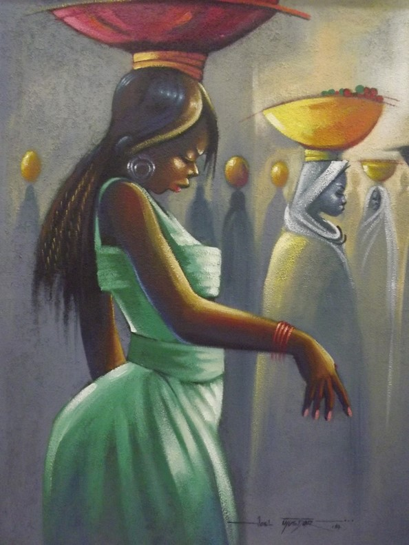 Acrylic on canvas - 44 x 45