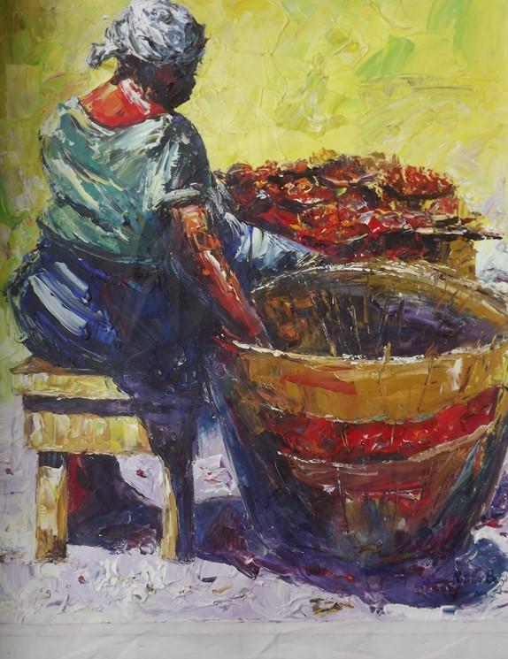 Iya Loja (2013) - Oil on canvas - 48 x 36 in